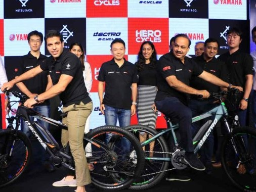 Hero Cycles Partners With Yamaha Motor Company For India's First Centre Motor E-Cycle