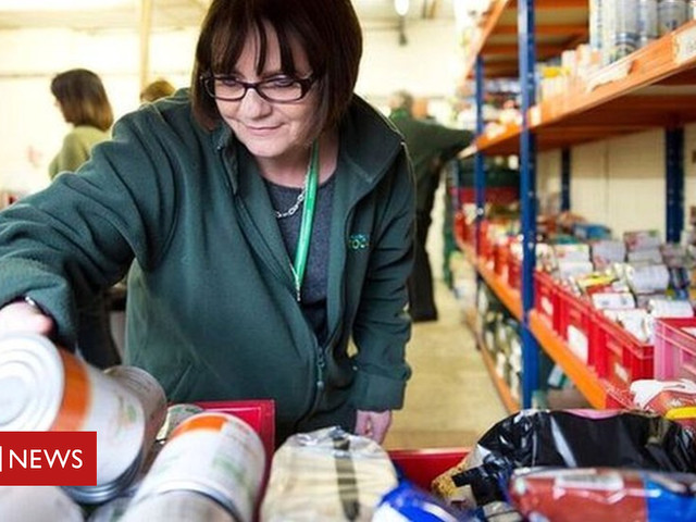 Food bank charity gives record level of supplies