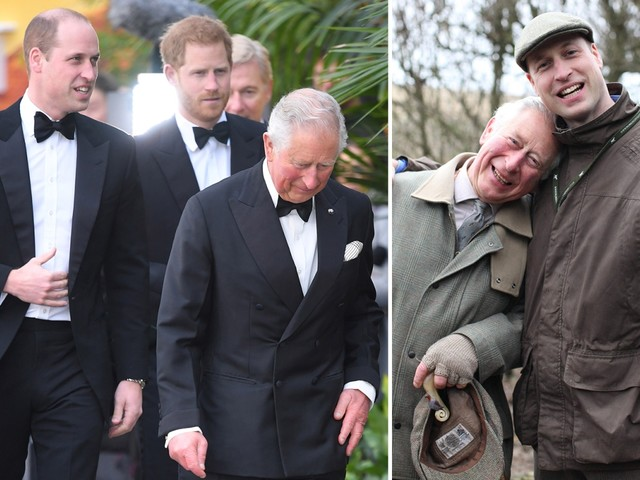 Prince Charles gushes he's 'proud' of son William for environment campaign – days after Harry anti-mining plea