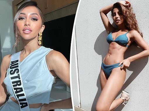 Miss Universe Australia Maria Thattil addresses critics who say she isn't 'Australian enough'
