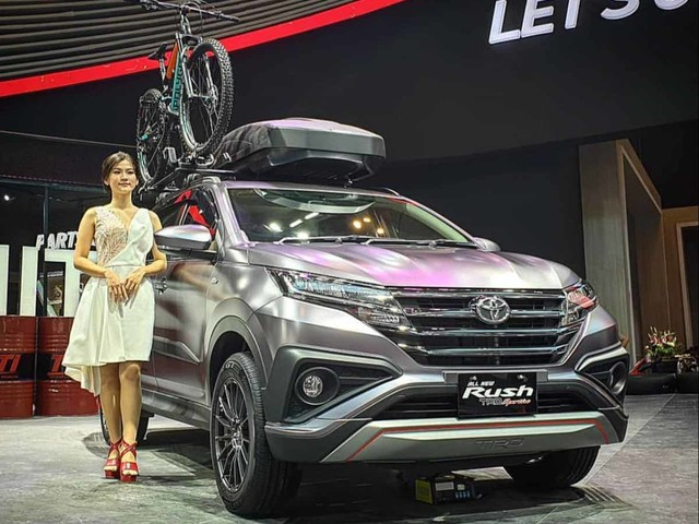 India-Bound Toyota Rush SUV Showcased At 2019 GIIAS