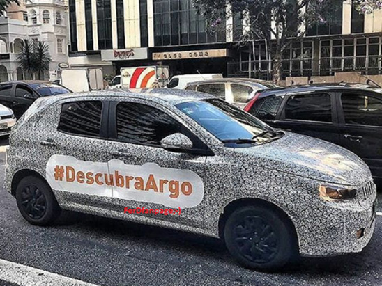 New Fiat Argo hatchback teased