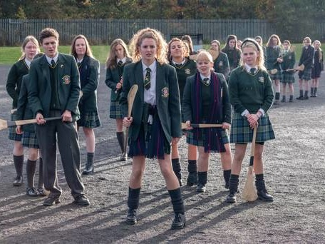 Derry Girls get stick on social media over second series