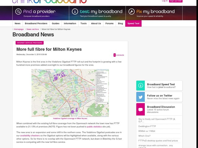 More full fibre for Milton Keynes
