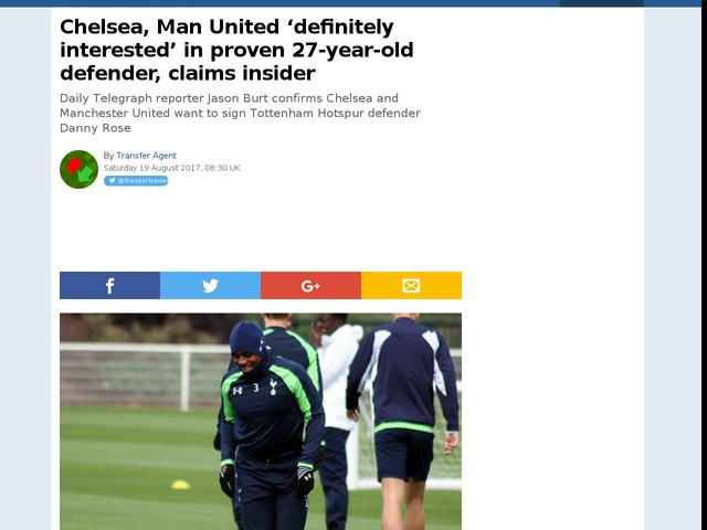 Chelsea, Man United 'definitely interested' in proven 27-year-old defender, claims insider