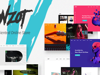 Vonzot - Music Oriented WooCommerce Theme (WooCommerce)