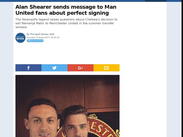 Alan Shearer sends message to Man United fans about perfect signing