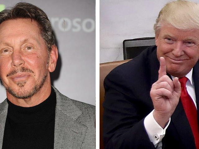Oracle employees say Safra Catz and Larry Ellison don't talk about their Trump ties internally. After the US Capitol siege, some want action: There's 'blood on their hands' (ORCL)