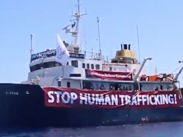 Defend Europe Ship, The C-Star, Breaks Down In Mediterranean, NGO Sent To Rescue