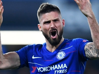 'My blood is blue now' - Giroud won't hold back against Arsenal in the Europa League