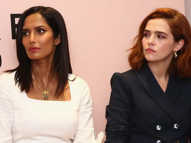 Zoey Deutch & Padma Lakshmi Participate in Panel for Rebecca Taylor & The Wing