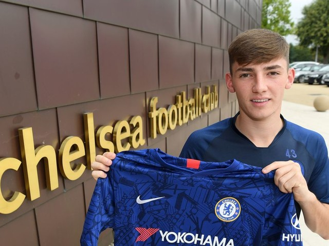 Billy Gilmour named PL2 Player of the Month for August
