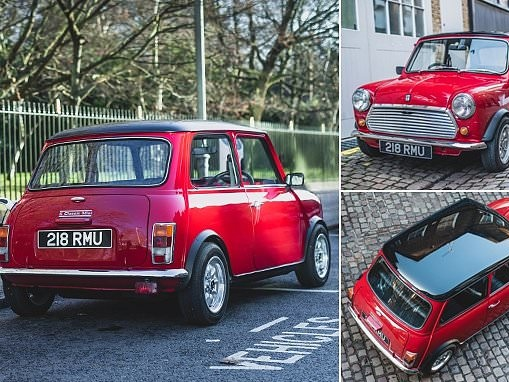 The £79,000 classic Mini that's powered by electric
