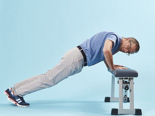 DR MICHAEL MOSLEY: Want to know how long you'll live? See how many of these you can do in one minute
