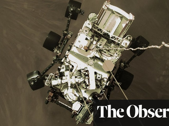 The Observer view on triumph on Mars and tragedy in Texas | Observer editorial