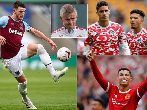 Declan Rice has the chance to show Man United what they're missing when they face West Ham