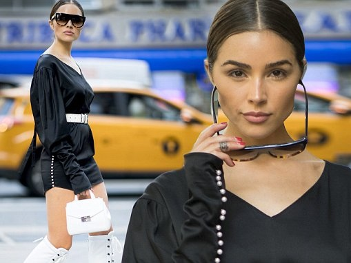 Olivia Culpo stops traffic with futuristic look in NYC