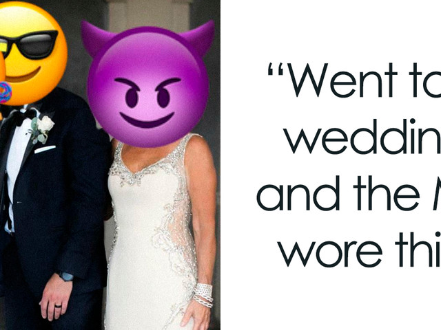 112 Weddings That Got Shamed By This Online Group (New Pics)