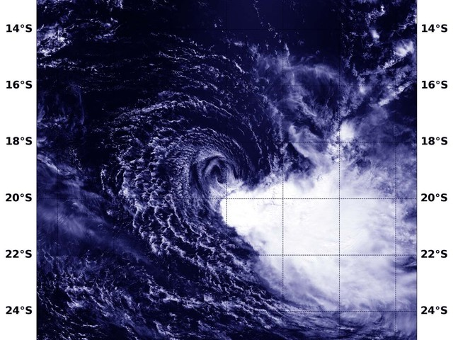 NASA's Aqua Satellite sees Tropical Cyclone Veronica develop off western Australia's coast