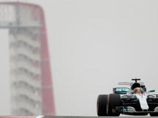 Hamilton quickest in practice at US Grand Prix