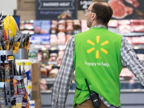 Walmart says it's hiring about 5,000 people a day as it tries to keep up with surging demand and the flood of customers amid the coronavirus pandemic