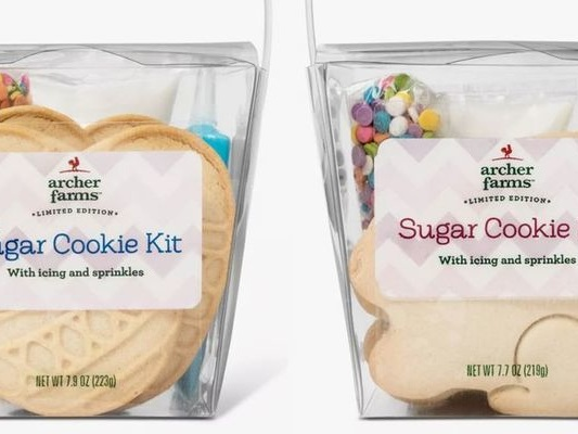 DIY Sugar Cookie Kits - Target's New Easter Egg Sugar Cookie Kit is a Family-Friendly Activity (TrendHunter.com)