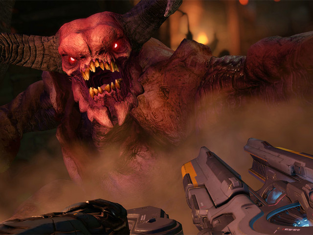 Doom multiplayer is coming to Nintendo Switch, but as a separate download