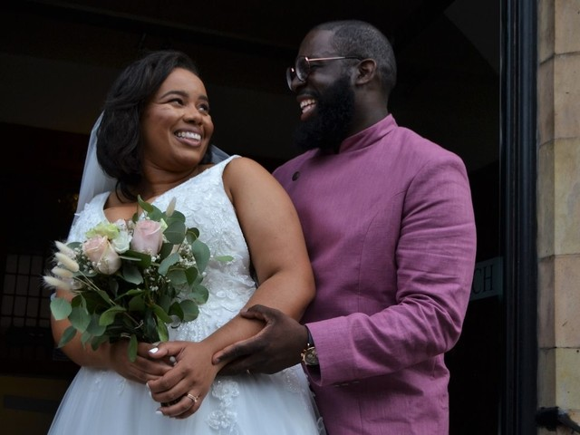 Former music students marry in Muswell Hill Baptist Church