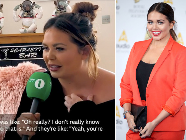 Scarlett Moffatt reveals fan confused her for a lookalike and told her she was 'prettier and less fat'