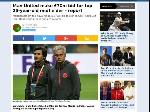 Man United make £70m bid for top 25-year-old midfielder – report