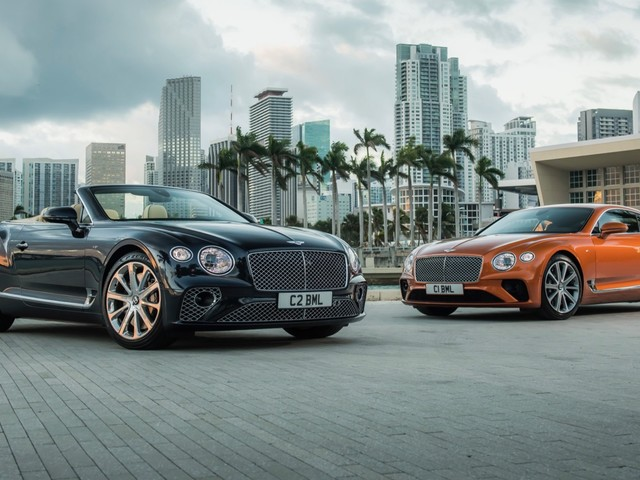 Bentley Continental GT V8 arrives with 542-hp