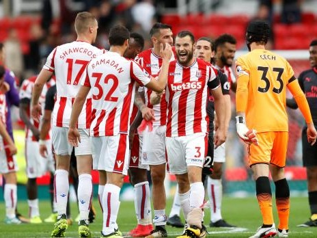 Photos: Debutant Jese inspires Stoke to win over Arsenal