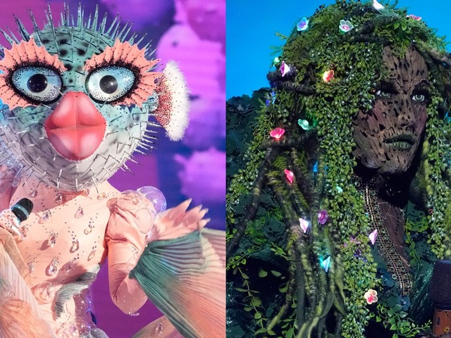 'Masked Singer' Reveals 2 More Contestants: And Mother Nature and Pufferfish Are…