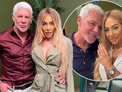 'We're going to spend time together': Wayne Lineker, 59, reveals Chloe Ferry, 25, is moving to Ibiza