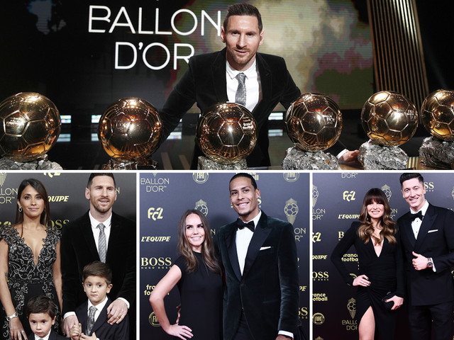 Lionel Messi wins record sixth Ballon d'Or as Barcelona superstar pips Virgil van Dijk to award in glitzy Paris bash