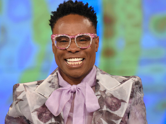 Billy Porter Wants to Open Up Conversations With His Red Carpet Dresses