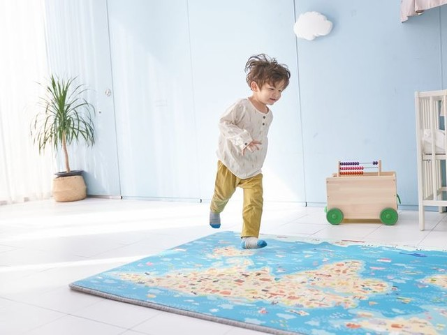 Connected Toddler Play Mats - The Funtory Magic Carpet Makes Use of Educational AR Technology (TrendHunter.com)