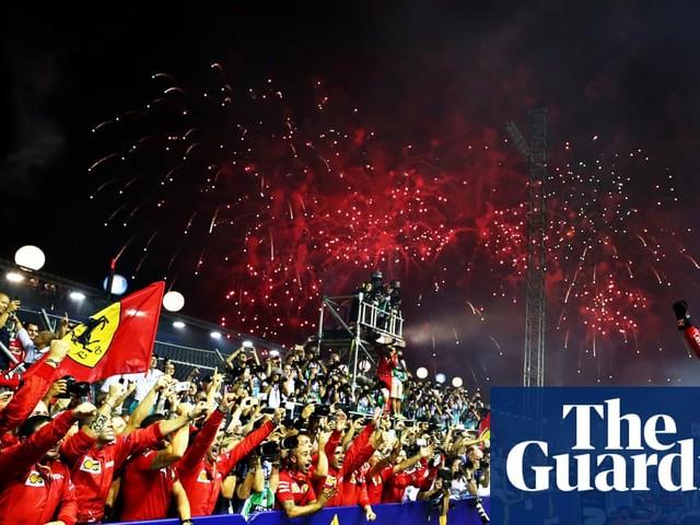 Sebastian Vettel wins F1 Singapore Grand Prix in Ferrari one-two