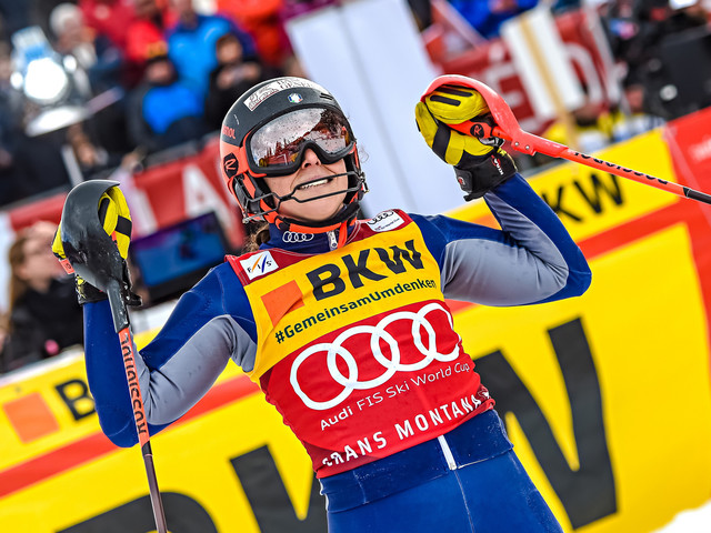 Brignone claims overall women's lead with race victory at FIS Alpine Skiing World Cup