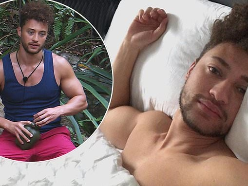 I'm A Celeb's Myles Stephenson prepared for the show's meagre 700 calorie meals by fasting on water