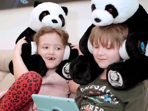 Comforting Plush Toy Headphones - The 'HugPhones' Help Kids Feel Safer in New Environments (TrendHunter.com)