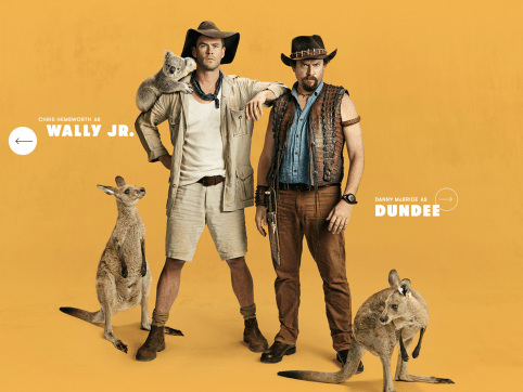 WTF: Chris Hemsworth Joins Danny McBride in New 'Dundee' Trailer