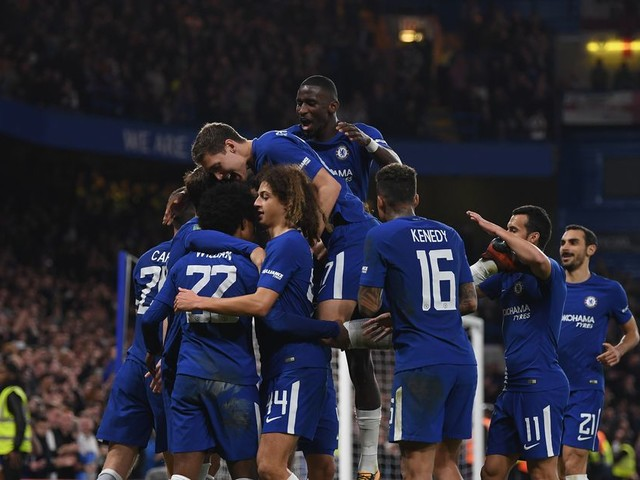 Chelsea take advantage of troubled Toffees in 2-1 League Cup triumph