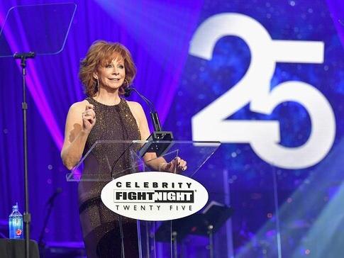 Stars Shine At Celebrity Fight Night XXV