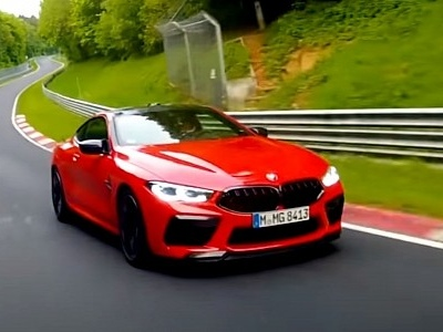 2020 BMW M8 Competition Laps the Nurburgring in Porsche 911-Rivaling Time