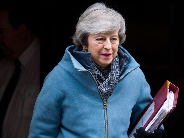 Theresa May's plea to Tories over Brexit: History will judge us