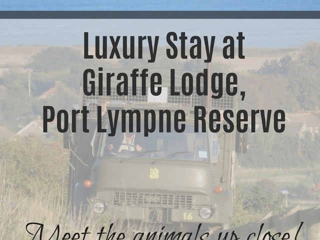Review: Romantic Break for Two at Giraffe Lodge, Port Lympne Reserve, Kent