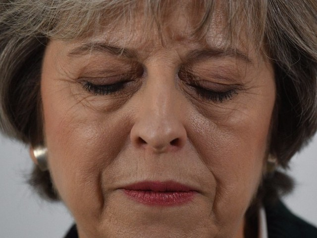 A senior Tory MP is leading a plot to oust Theresa May 'sooner rather than later'