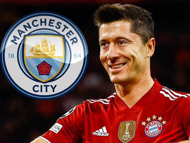 Man City 'possible transfer destination' for Bayern Munich superstar Robert Lewandowski, according to agent Pini Zahavi