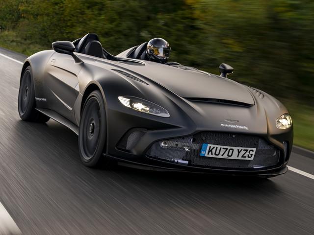 New Aston Martin V12 Speedster begins final test programme